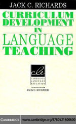 Curriculum Development in Language Teaching - Jack C. Richards