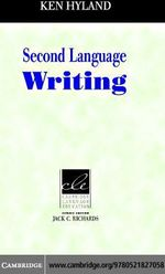 Second Language Writing - Ken Hyland