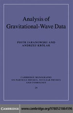 Analysis of Gravitational-Wave Data - Piotr Jaranowski