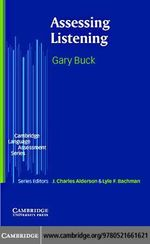 Assessing Listening - Gary Buck