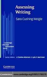 Assessing Writing - Sara Cushing Weigle