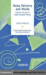 Rules, Patterns and Words - Dave Willis