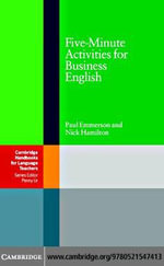 Five-Minute Activities for Business English - Paul Emmerson