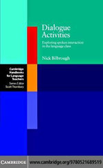 Dialogue Activities - Nick Bilbrough