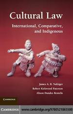 Cultural Law - James A. R. Nafziger