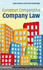 European Comparative Company Law - Mads Andenas