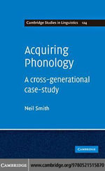 Acquiring Phonology - Neil Smith