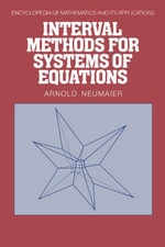 Interval Methods for Systems of Equations - A. Neumaier