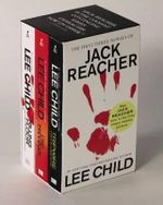 Lee Child Jack Reacher Books 1-3 Boxed Set : Killing Floor / Die Trying / Tripwire - Lee Child