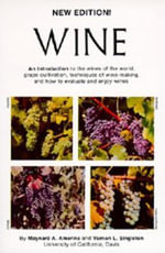 Wine : An Introduction - Maynard Andrew Amerine