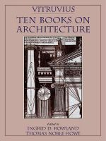 Vitruvius : 'Ten Books on Architecture': Ten Books - Vitruvius