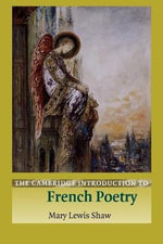 The Cambridge Introduction to French Poetry : An Atlas of Mortality in Britain - Mary Lewis Shaw