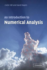 An Introduction to Numerical Analysis - Endre Suli