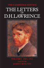 The Letters of D. H. Lawrence 8 Volume Paperback Set - D  H Lawrence