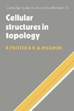 Cellular Structures in Topology - Rudolf Fritsch