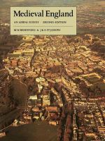 Medieval England : An Aerial Survey - M. W. Beresford