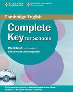 Complete Key for Schools Workbook with Answers with Audio CD : Complete - Sue Elliott