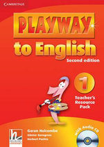 Playway to English Level 1 Teacher's Resource Pack with Audio CD : Level 1 - Gunter Gerngross