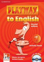 Playway to English Level 1 Activity Book with CD-ROM : Level 1 - Gunter Gerngross