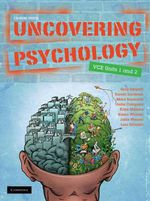 Uncovering Psychology VCE Units 1 And 2 :  Book with CD-Rom - Gregory Sargent