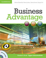 Business Advantage Upper-intermediate Student's Book with DVD : Business Advantage - Michael Handford