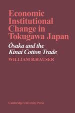 tokugawa japan an institutional analysis of