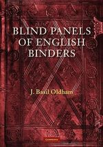 Blind Panels of English Binders - James B. Oldham