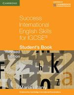 Success International English Skills for IGCSE Student's Book - Marian Barry