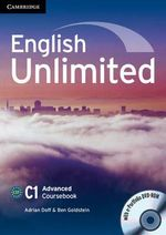 English Unlimited Advanced Coursebook with E-Portfolio : A Resource Book for the Language Classroom - Adrian Doff