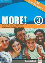 More! Level 3 Student's Book with Interactive CD-ROM with Cyber Homework : More! - Herbert Puchta