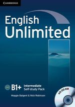 English Unlimited Intermediate Self-study Pack (workbook with DVD-ROM) - Maggie Baigent