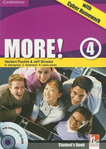 More! Level 4 Student's Book with Interactive CD-ROM with Cyber Homework - Herbert Puchta