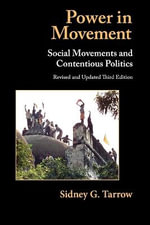 Power in Movement : Social Movements and Contentious Politics - 3rd Edition - Sidney G. Tarrow