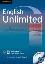 English Unlimited Advanced Self-study Pack (workbook with DVD-ROM) - Ben Goldstein