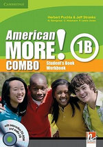 American More! Level 1 Combo B with Audio CD/CD-ROM - Herbert Puchta