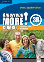 American More! Level 3 Combo B with Audio CD/CD-ROM - Herbert Puchta