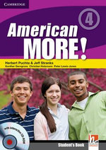 American More! Level 4 Student's Book with CD-ROM - Herbert Puchta