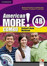 American More! Level 4 Combo B with Audio CD/CD-ROM - Herbert Puchta