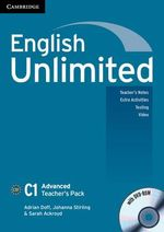 English Unlimited Advanced Teacher's Pack (teacher's Book with DVD-ROM) - Adrian Doff