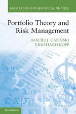 Portfolio Theory and Risk Management - Maciej J. Capinski