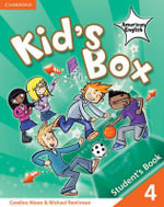 Kid's Box American English Level 4 Student's Book - Caroline Nixon