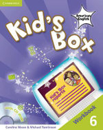 Kid's Box American English Level 6 Workbook with Cd-rom - Caroline Nixon