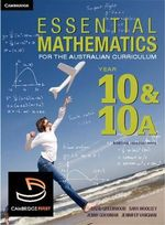 Essential Mathematics for the Australian Curriculum Year 10 and 10A : Essential Mathematics - David Greenwood