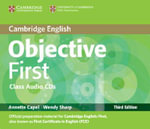 Objective First Class Audio CDs (2) - Annette Capel