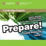 Cambridge English Prepare! Level 7 Class Audio CDs (3) : Cambridge English Prepare! - James Styring
