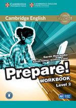 Cambridge English Prepare! Level 2 Workbook with Audio : Level 2 - Garan Holcombe