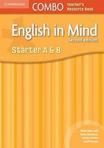 English in Mind Starter A and B Combo Teacher's Resource Book - Brian Hart