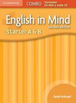 English in Mind Starter A and B Combo Testmaker CD-ROM and Audio CD - Sarah Ackroyd