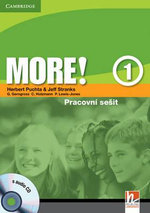 More! Level 1 Workbook with Audio CD Czech Edition : More! - Herbert Puchta