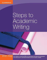 Steps to Academic Writing - Marian Barry